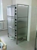 Шкаф жарочный трехсекционный ШЖ-3