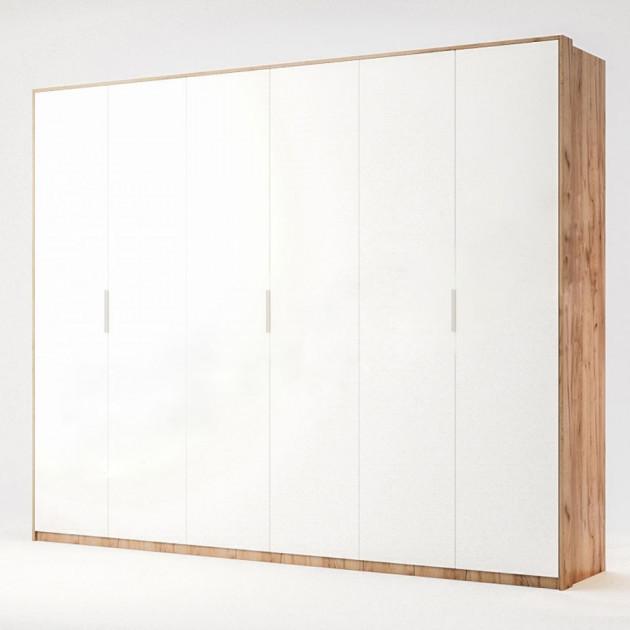 Шкаф распашной в спальню из ЛДСП Асти 6Д MiroMark