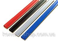 Планки для зажима бумаги 12 мм черные (100 шт.), фото 2