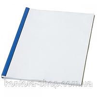 Планки для затиску паперу 10 мм сині (100 шт), фото 6