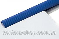 Планки для затиску паперу 10 мм сині (100 шт), фото 5