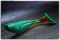"Силиконовая приманка Fishup Wizzle Shad 3"" #017 Motor Oil Pepper"