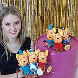 Набор  героев мультфильма Три кота   плюшевые 3 шт, фото 2