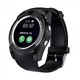Умные часы Smart Watch GSM Camera V8 Black, фото 4