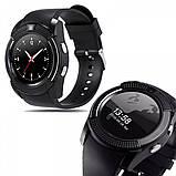 Умные часы Smart Watch GSM Camera V8 Black, фото 7