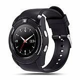 Умные часы Smart Watch GSM Camera V8 Black, фото 6