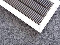 Грязезащитная решетка ЛЕН заполнение резина/текстиль  (600ммх400 мм)