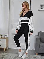Стильный женский спортивный костюм ARUT двухцветный, фото 1