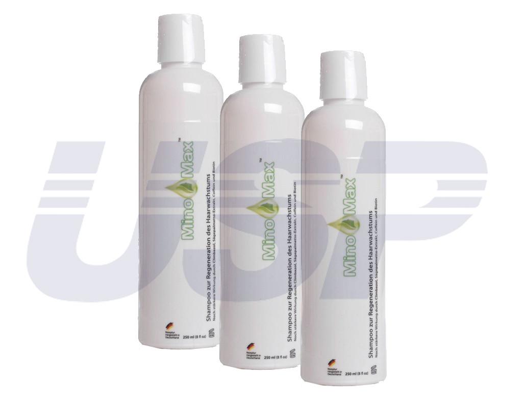 MinoMax МиноМакс Шампунь от выпадения волос для роста волос от облысения миноксидин ТОВ Миноксидил груп