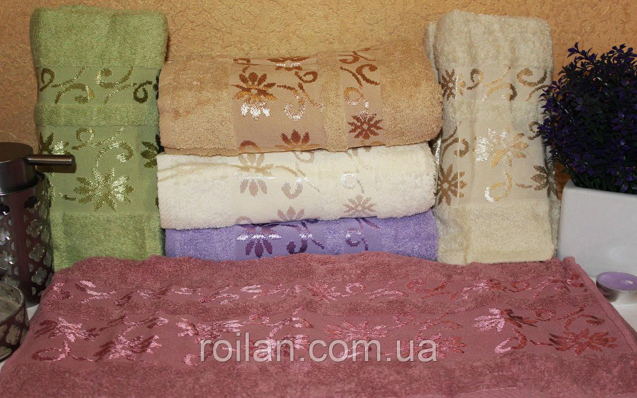 Банные турецкие полотенца Luzz Ромашка
