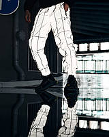 Спортивные штаны Пушка Огонь Bard рефлективные с кантом, фото 1