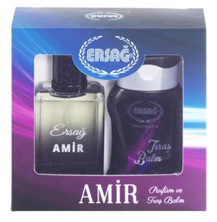 Набор Амир (парфюм и бальзам после бритья) Ersag