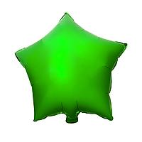 """Фольгированный шар """"Звезда"""" зелёный"""