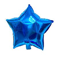 """Фольгированный шар """"Звезда"""" синий"""