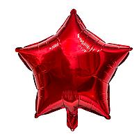 """Фольгированные шары """"Звезды"""" 18"""" (45 см)  Красный Balloons"""