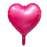 """Фольгированный шар """"Сердце"""" розовый"""