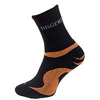 Носки черно-оранжевого цвета. Urgent