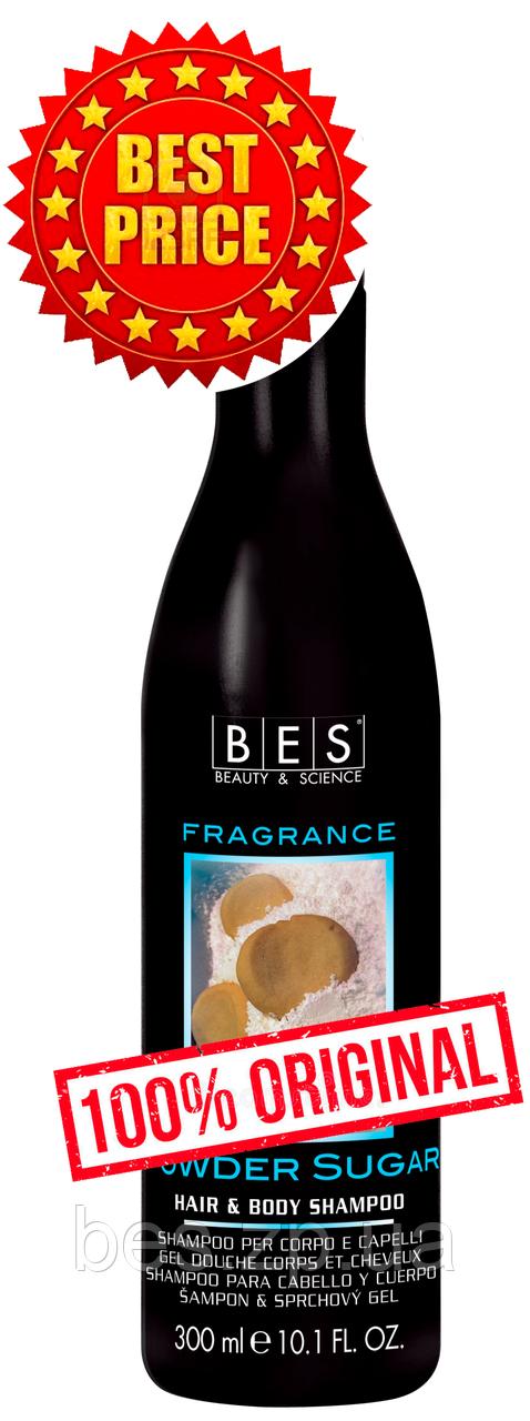Шампунь – гель Тростниковый сахар для душа для всех типов волос Fragrance 300 мл