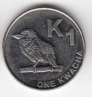 Zambia Замбия 1 Kwacha 2014 UNC
