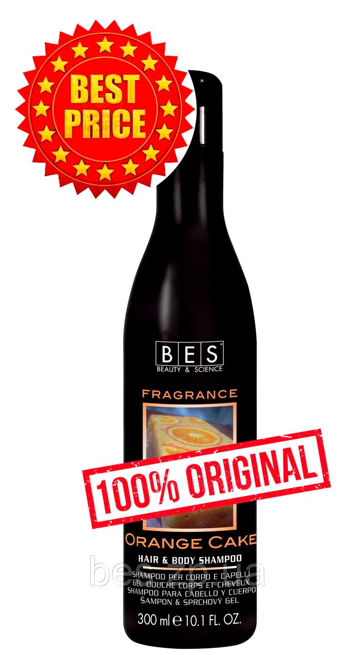 Шампунь – гель Апельсиновий пиріг для душу для всіх типів волосся Fragrance 300 мл