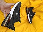 Чоловічі кросівки Nike Air Max 270 (чорно-білі) D63, фото 8