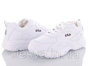 Белые модные кроссовки для девочек подростков тм BBT 125-2 Размеры 36- 41