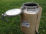 Бидон для молока алюминиевый КАЛИТВА (18,25,40 л) оптом и в розницу,доставка из Харькова., фото 3