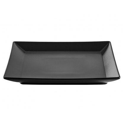 Тарелка Ipec Tokyo Black десертная 21х21 см