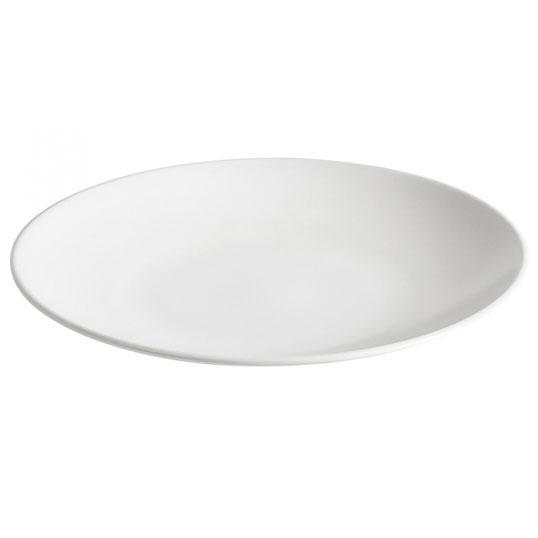 Тарелка Ipec Monaco White обеденная 24 см
