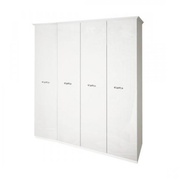 Шкаф распашной в спальню из ЛДСП Прованс 4Д MiroMark