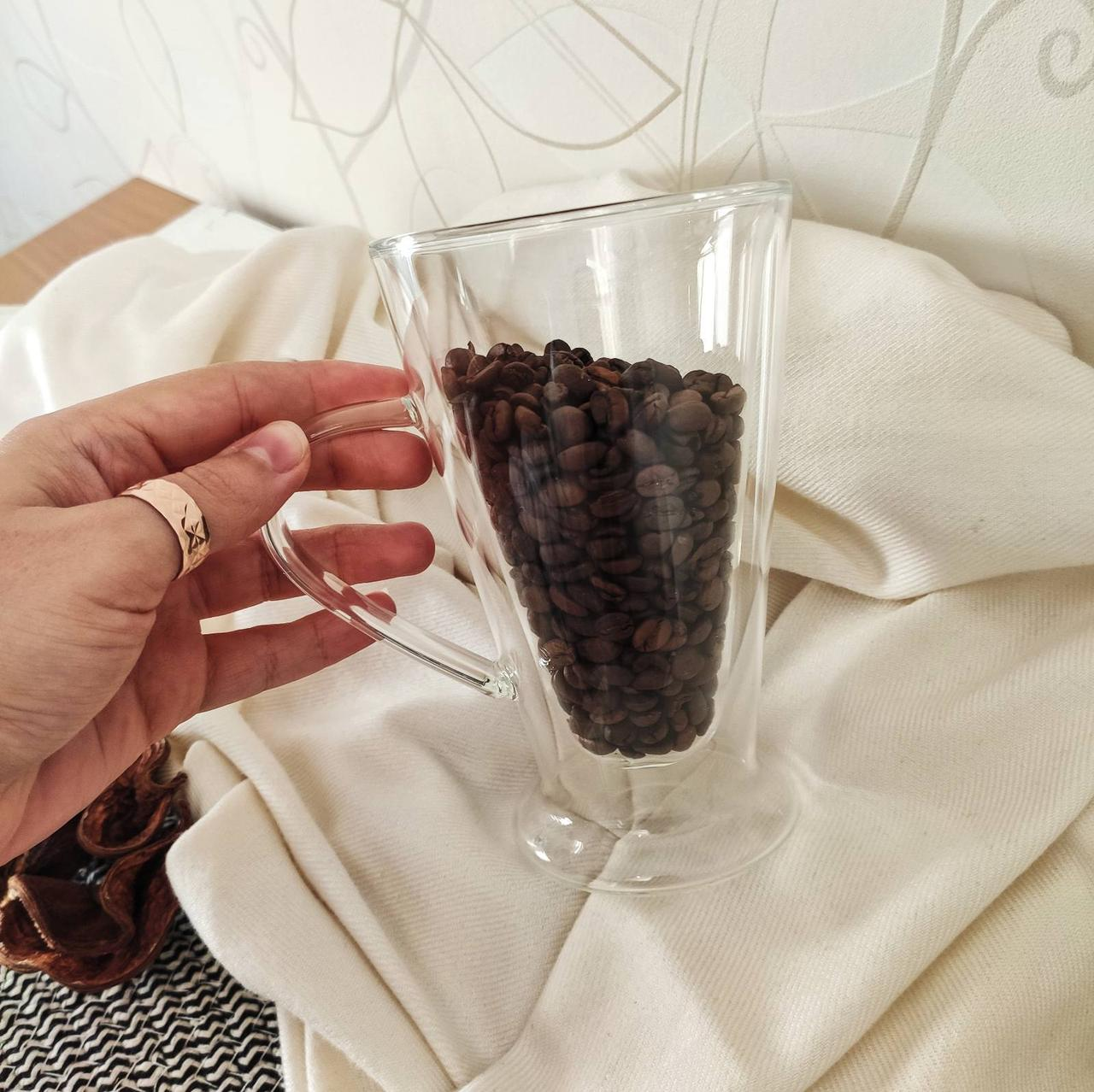 Чашка с двойными стенками DS Irish 400 мл для латте 1шт