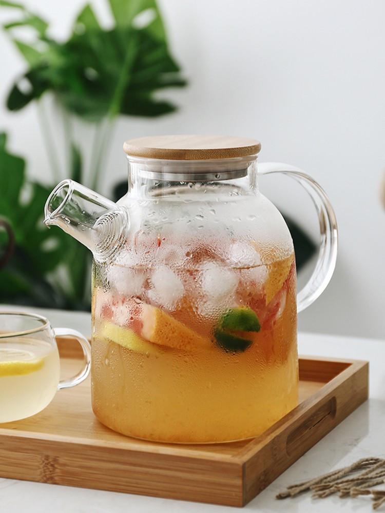 Заварочный чайник DS Стокгольм 1,5 л с бамбуковой крышкой