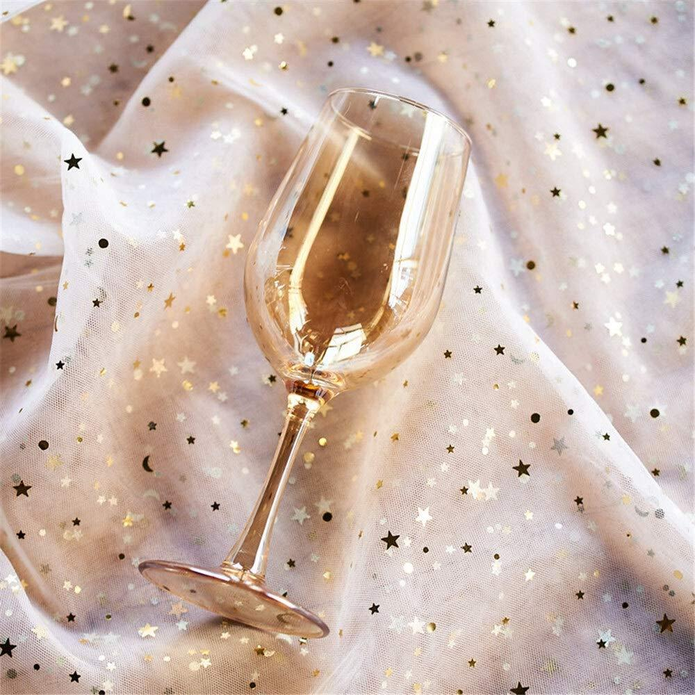 Набор бокалов DS Living Water Gold для вина 500 мл Золотой