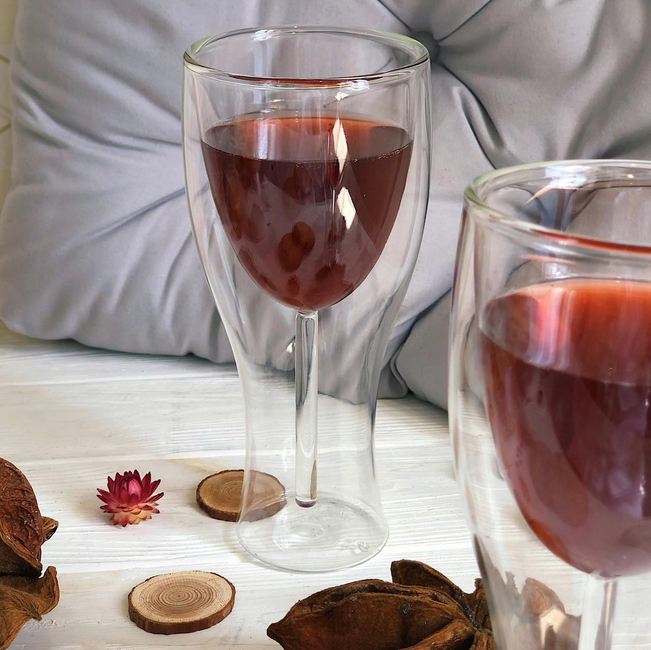 Набор бокалов DS Wine с двойными стенками 270 мл 2 шт