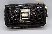 Женская кожаный ключница Wanlima 82092670117 Black/Gray
