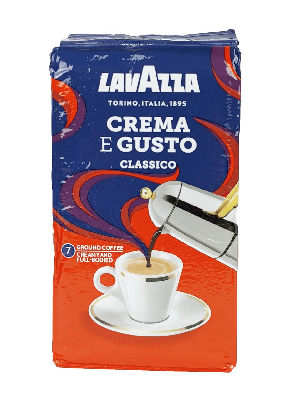 Кофе LAVAZZA лаваца (лавазза) CREMA e GUSTO молотый 250 г. Оригинал EU