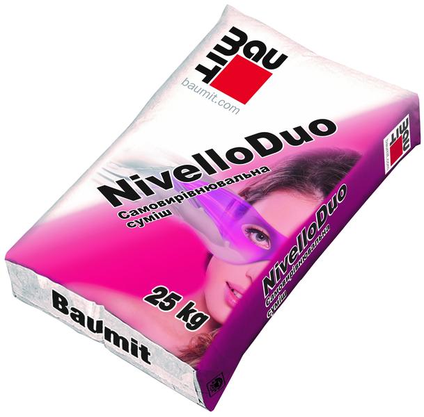 Самовыравнивающаяся смесь Baumit Nivello DUO (2-20мм), 25 кг
