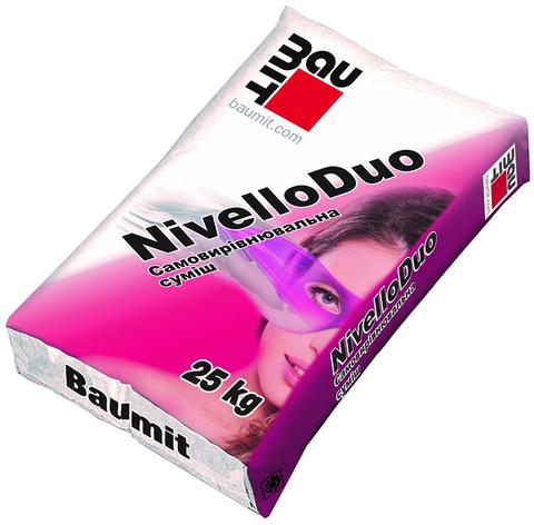 Самовыравнивающаяся смесь Baumit Nivello DUO (2-20мм), 25 кг, фото 2