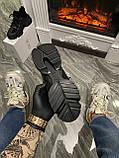 Женские зимние кроссовки Dior D-Connect Winter Black Fur Мех, женские кроссовки диор д коннект зима, фото 7