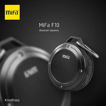Портативная колонка Mifa F10 Grey 3W Bluetooth 4.0 Водонепроницаемый серый динамик 3 Вт + поддержка TF карты