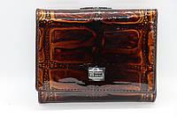 Женский кожаный кошелёк Wanlima 81042340015b1 Light Coffee