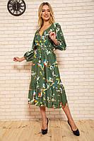 Платье женское 115R394-2 цвет Хаки