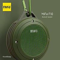 Портативная колонка Mifa F10 Gree 3W Bluetooth 4.0 Водонепроницаемый зеленый динамик 3 Вт + поддержка TF карты