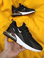 Мужские кроссовки Nike Air Max 270 (черно-белые) D63