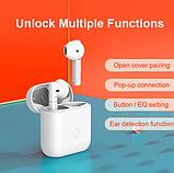 Беспроводные наушники QCY T8 TWS Bluetooth 5.1 YouPin Гарнитура Цвет Белый, фото 5