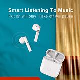 Беспроводные наушники QCY T8 TWS Bluetooth 5.1 YouPin Гарнитура Цвет Белый, фото 7