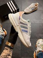 Кросівки жіночі Adidas ZX 500 Commonwealth (Білий). Стильні жіночі кросівки, фото 1