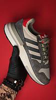 Кросівки чоловічі Adidas ZX 500 RM Grey (Сірий). Стильні чоловічі кросівки, фото 1