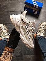 Кроссовки мужские Adidas Ozweego White Chameleon (Белый). Стильные мужские кроссовки., фото 1