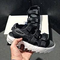 Кроссовки мужские Fila Disruptor 2 SD Black White (Черный). Стильные мужские кроссовки.